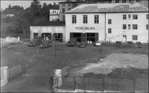 Od padesátých let sídlí hasiči v této budově